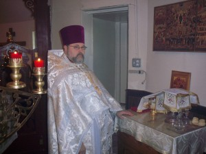 Priest Igor Tarasov on his 22nd anniversary