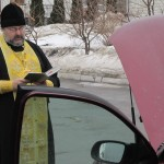 16)Благословение автомобиля в Киеве, 20122